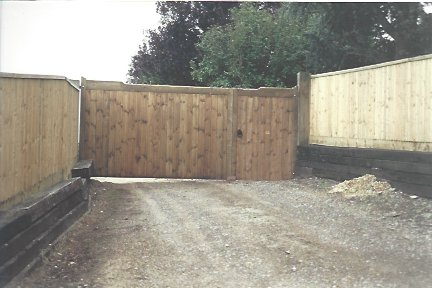 Replace of fix your timber fence.